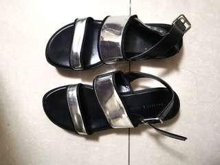 Charles and Keith Hologram Sandals