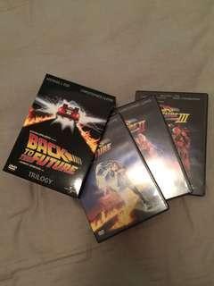 回到未來澳洲版DVD Box set