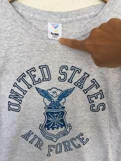 VTG US AIR FORCE MADE IN USA