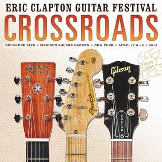 Eric Clapton  Crossroads Guitar Festival 2013  LP