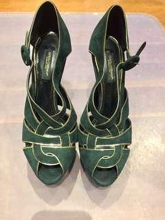 Authentic Dolce and Gabbana heels size 36
