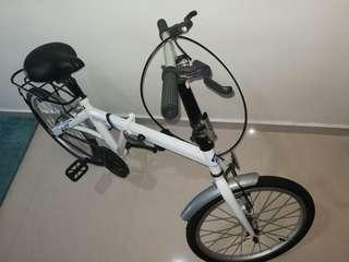 FUTUR foldable bicycle(New only opened for assembly)