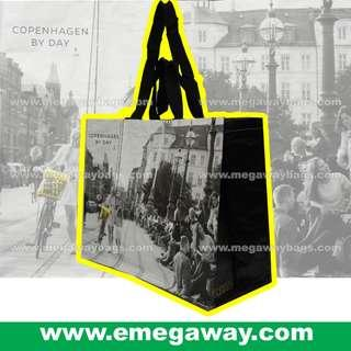 Copenhagen by Day Night #WaterProof #Coated #Laminated #Logo #Brand #Marketing #Gift #Souvenir #Social #Media #Goods #Grocery #Store #Eco #Non-Woven #Woven #Recycle #Shopping #Bag #Carrier #Megaway @MegawayBags #MegawayBags #EM-0015 #環保袋 #購物袋 #禮品袋 #促銷袋