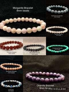 Rutilated Crystal Bracelets & Others