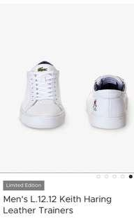 Lacoste white shoe (Limited Edition)(guy)