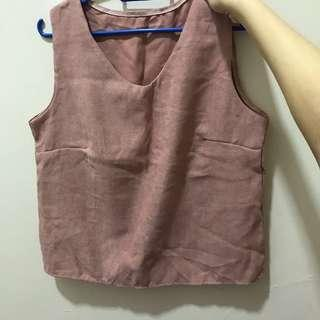 singlet with short top