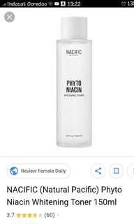 Nacific (Natural Pacific) Phyto niacin Whitwning Toner