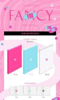 TWICE - FANCY YOU ALBUM PREORDER PHOTOCARD SET UNSEALED POSTER