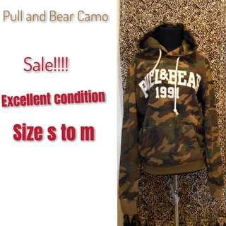 Pull and Bear camo ORI