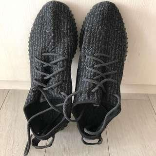 Black Walking Shoes