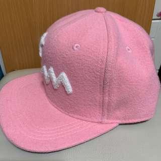 Soprtb粉紅色cap帽