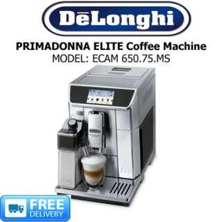 DELONGHI - COFFEE MAKER , PRIMADONNA ELITE ECAM 650.75.MS