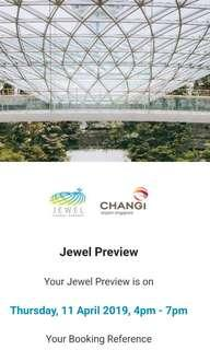 Jewel Preview Tickets 11 April 2019