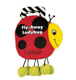 Lamaze Cloth Book: Lamaze Fly-Away Ladybug