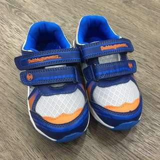 [Worn Once] LIGHTED Bubblegummers Size 8 Boy Shoes