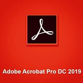 Acrobat 2019 Dc Pro
