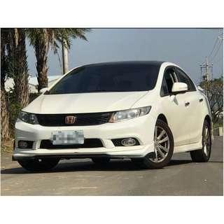 14年 Honda 本田 Civic K14  1.8白