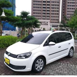 福斯 TOURAN TDI 1.6柴油 2012年白色