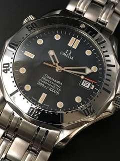 Omega  Seamaster professional chronometer 300 meter 1681503全鋼自動上弦潛水手錶