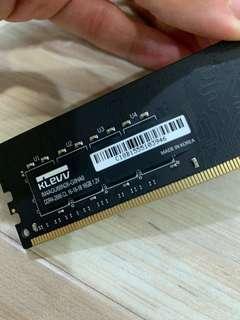 16gb KLEVV ram made in Korea DDR4