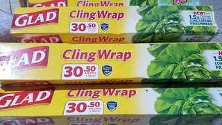 Cling Wrap & Zip Lock