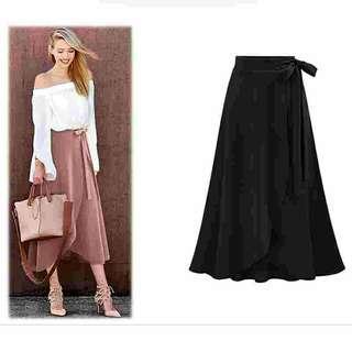 🚚 High waist split elegant long maxi Skirt