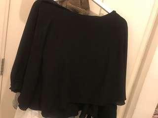 Black top brought from Italy