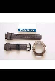New Authentic sealed Casio G-Shock Earth Brown Mudman G-9300ER-5 Watch Band and Bezel Set
