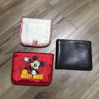 Take all 3 dompet seperti foto.