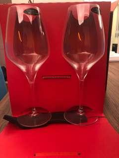 New 2x Riedel Vitis Shiraz wine glasses