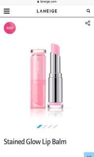 🚚 Laneige Stained Glow Lipbalm