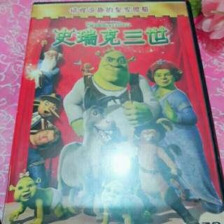 🚚 史瑞克三世DVD
