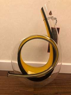 New Riedel Horn Decanter Yellow