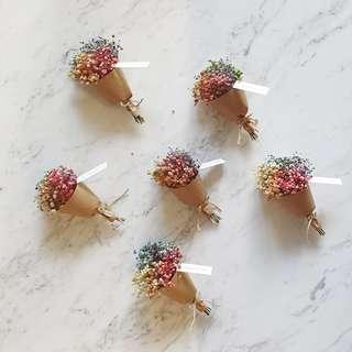 🚚 **Happy Mother's Day** Dried Flower Mini Bouquet