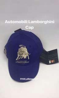 FOR SALE JUAL TOPI CAP OFFICIAL MERCHANDISE LAMBORGHINI LXII BLUE BNIB