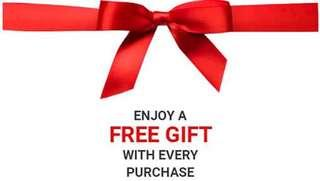Free gift with every purchase 🎁