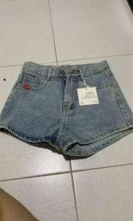 🚚 High waist Denim Shorts