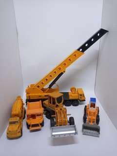 construction mobile toys lot