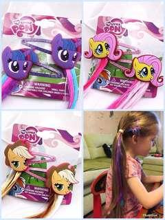 My Little Pony 假髮辮子髮夾 #kids300