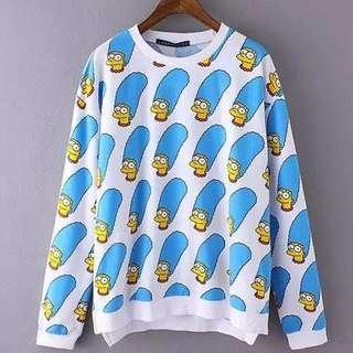 Zara Marge Simpson Sweater