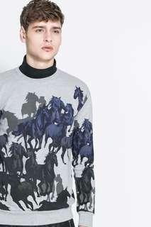 Zara Horse Sweater Jumper