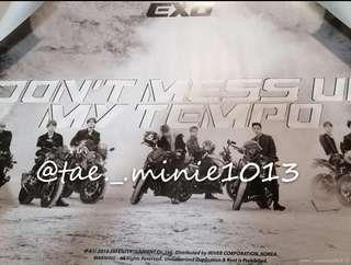🚚 WTS EXO TEMPO POSTER