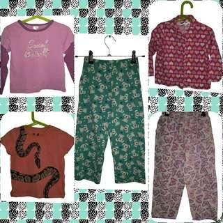SIZE 4 GIRLS CLITHING