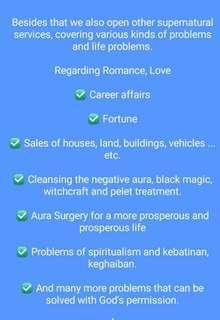 Spiritual Healing/Alternative Healing/ Rawatan Traditional ilmu