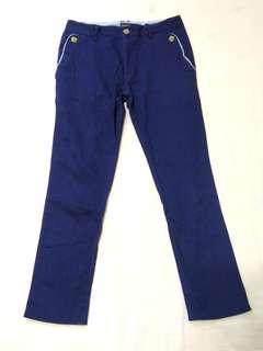 🚚 小尺寸福利#4 Life8海軍藍窄版長褲