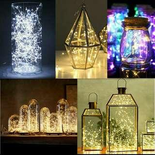 Available! Fairy lights (battery operated)