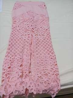 Mermaid Lacey long skirt