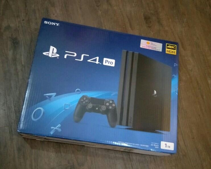 1TB PS4 Pro Trade-In Promotion
