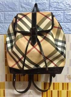 Burberry Nova Check bagpack