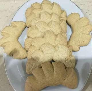 Kue Bangket Jahe Tradisional Homemade Isi 9pcs